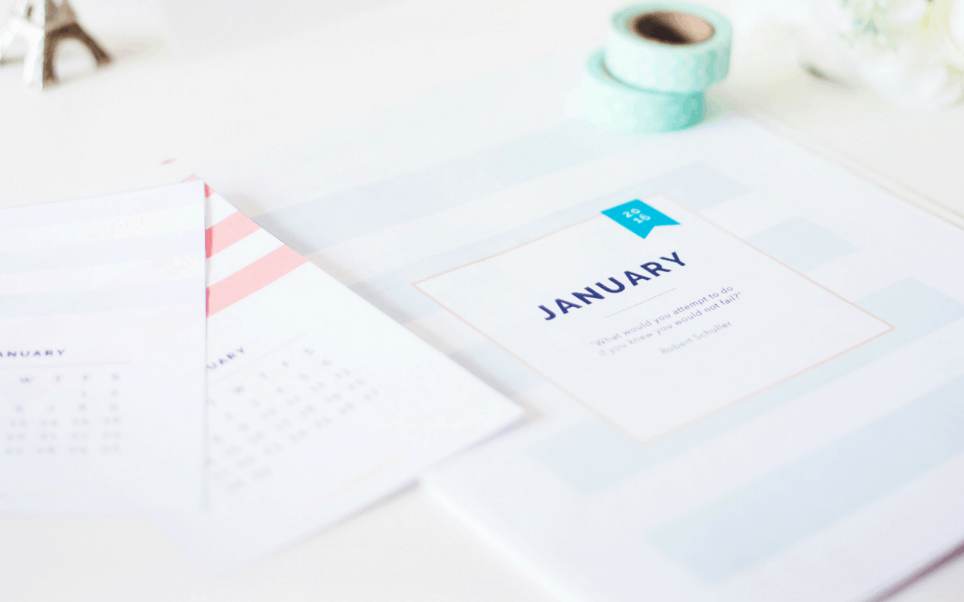 Things to Do at the Start of Every Month to Stay Organized