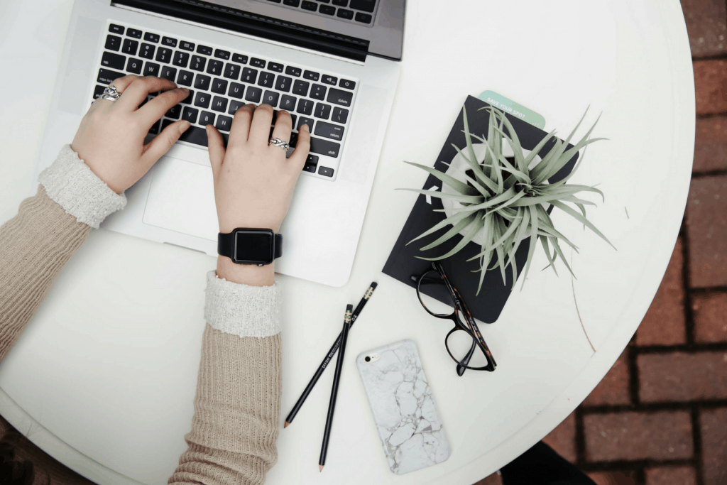write and schedule blog posts ahead of time
