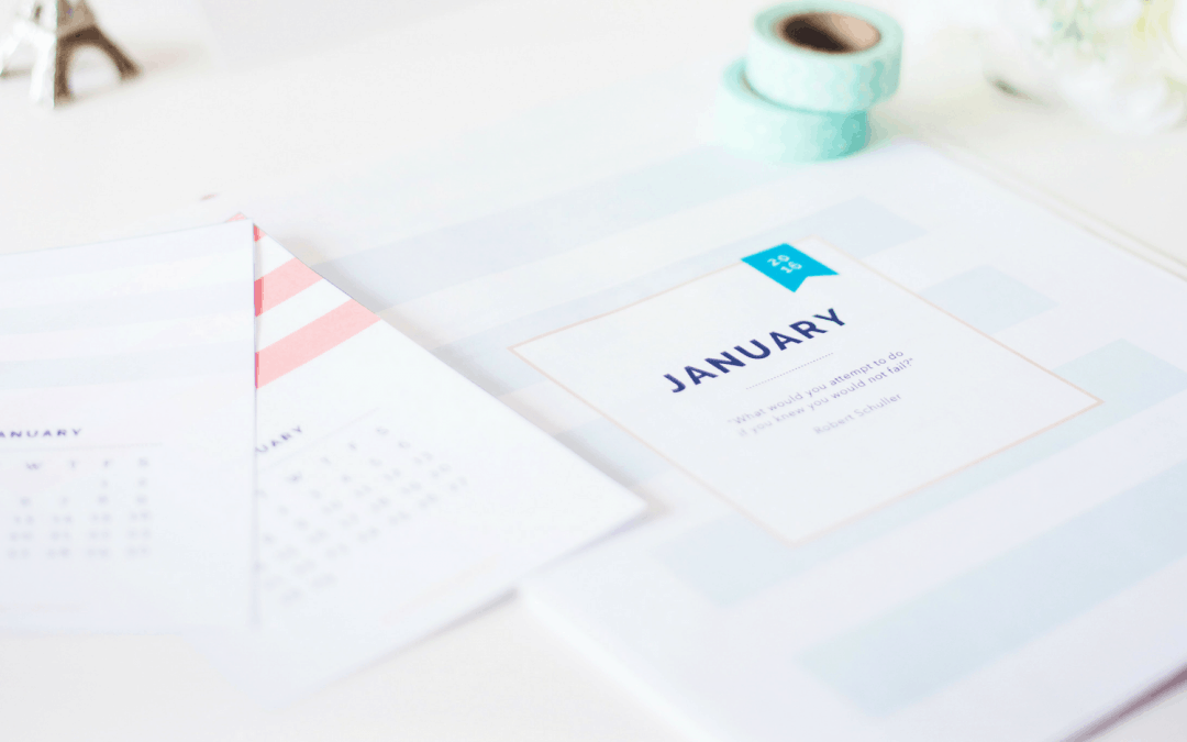 A Guide to Getting Organized For the New Year